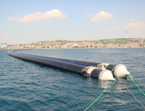 کاربرد لوله های پلی اتیلن در دریا