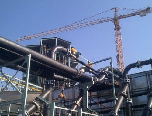 کاربرد لوله پلی اتیلن در نیروگاه های برق